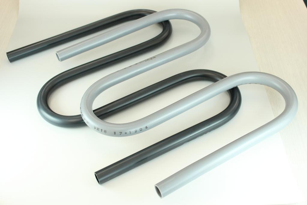 塩ビ管の曲げ加工 / PVCパイプ ベント管 / 塩化ビニル管 ループ管 ...
